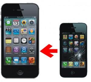 iPhoneガラス