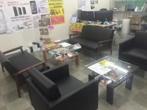 新潟店内です。